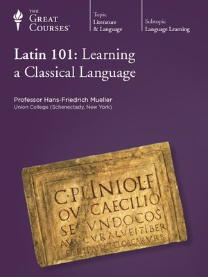 Cover of Latin 101: Learning a Classical Language